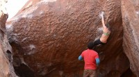 Vid : Sean McColl and Mathilde Becerra in Hueco 2014